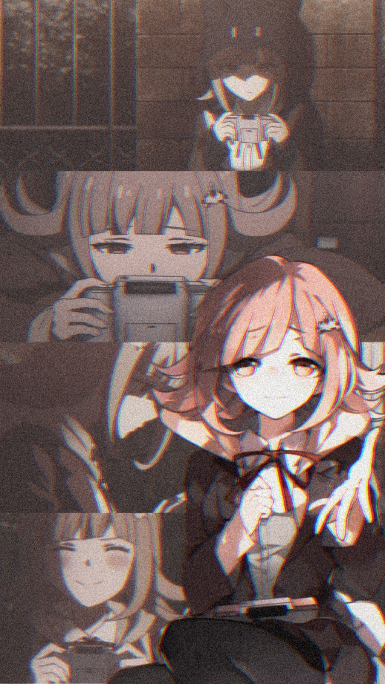 Chiaki Nanami Anime Wallpaper Iphone Anime Wallpaper Anime