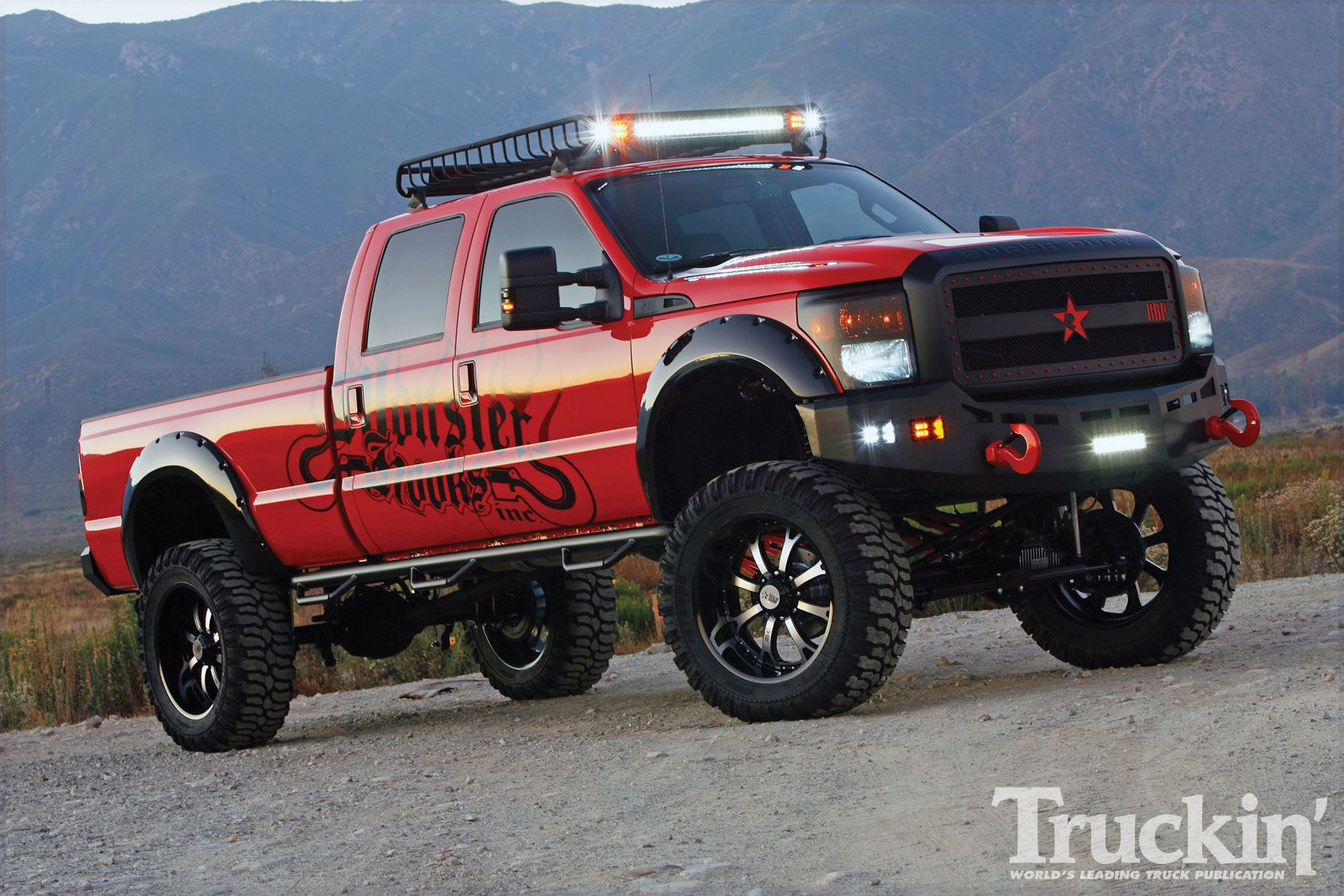 Ford ford f250 lifted