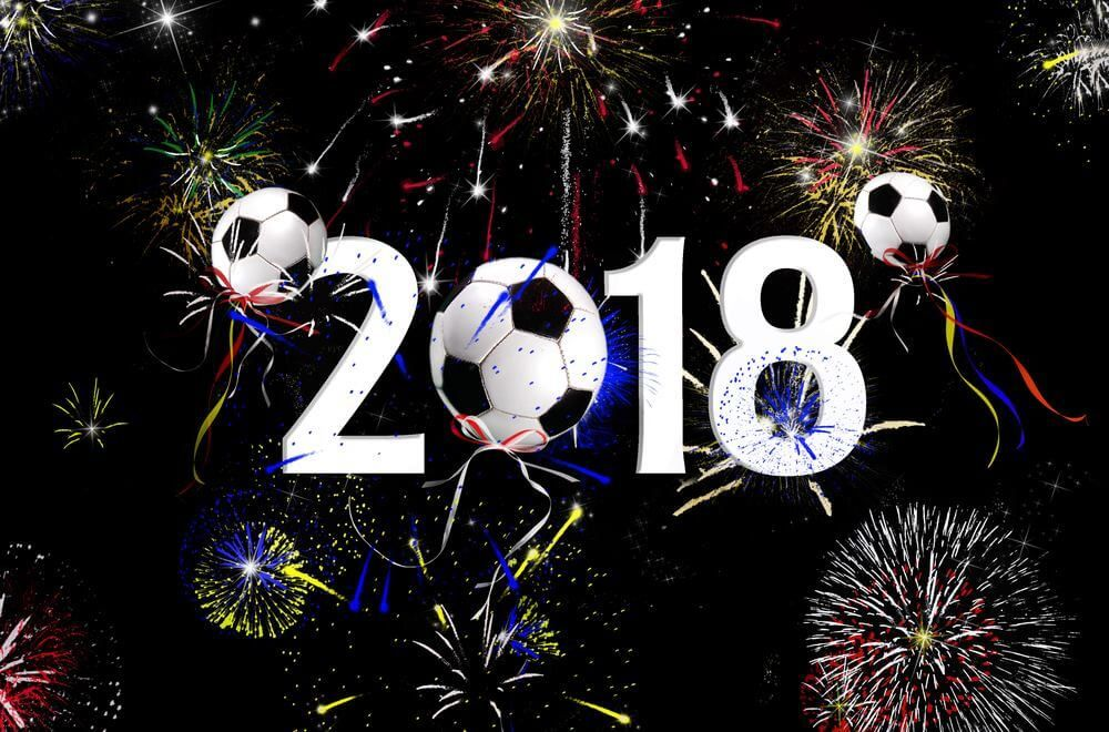 Happy New Year 2018 Picture For Football Lovers Happy New Year