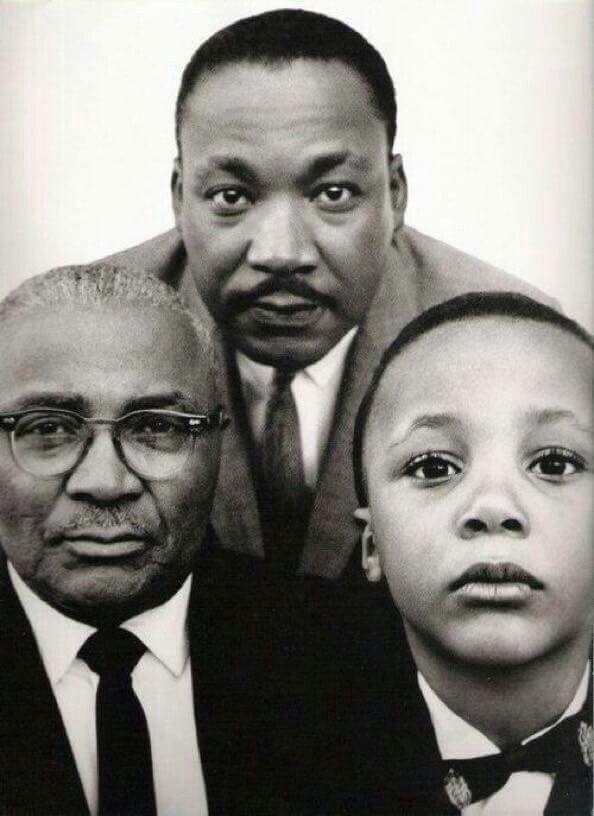 Three generations.  M  L  K.