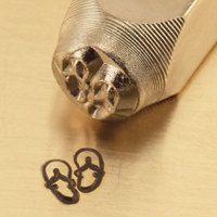 Impressart Metal Design Stamp 6mm Sandals Flip Flops By Smartparts 8 50 Metal Stamping Design Design Stamps Metal Stamping