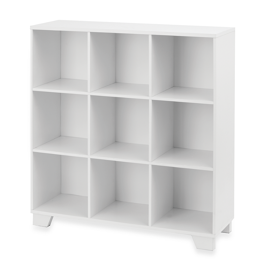 Real Simple® 9 Cube Storage Unit In White   BedBathandBeyond.com