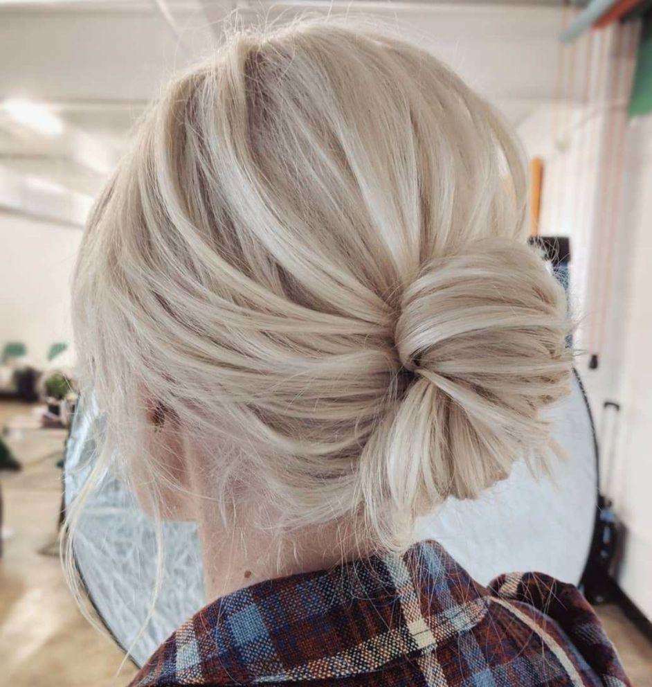 60 trendiest updos for medium length hair | wedding hair