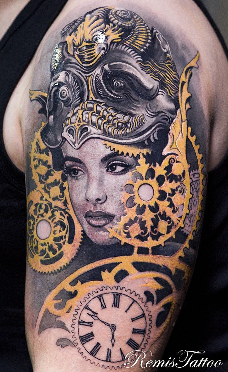 How To Make An Interesting Art Piece Using Tree Branches Ehow Tattoos For Women Half Sleeve Female Portrait Sleeve Tattoos For Women