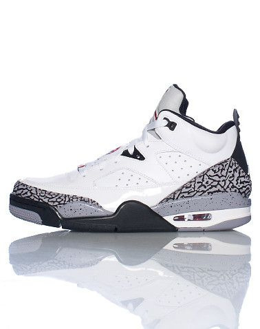 b4f176b3749047 JORDAN+Mid+top+men s+sneaker+Lace+up+closure+Padded+tongue+with+JORDAN+ jumpman+logo +Crackle+cement+detail+Cushioned+sole+for+comfort+and+performance