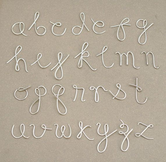 Martha Stewart Wire Letter Alphabet  Google Search  Crafts