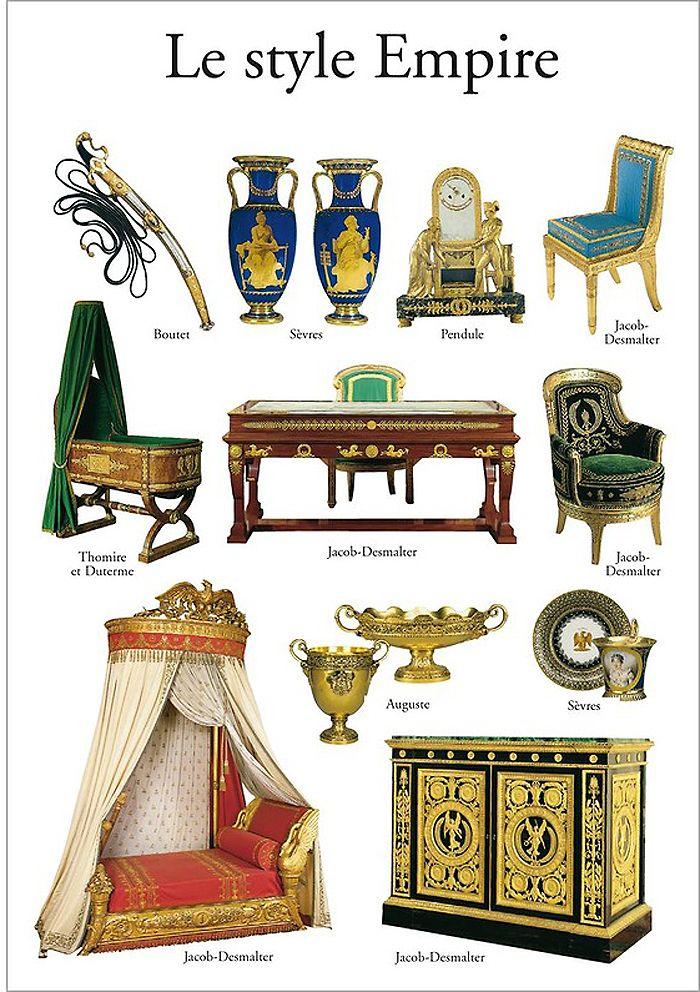 Style Empire Style Empire Art Deco Histoire De L Art