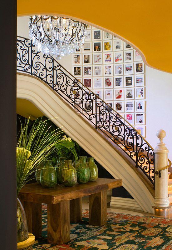 Salon Walls Offer A Distinctive Presentation