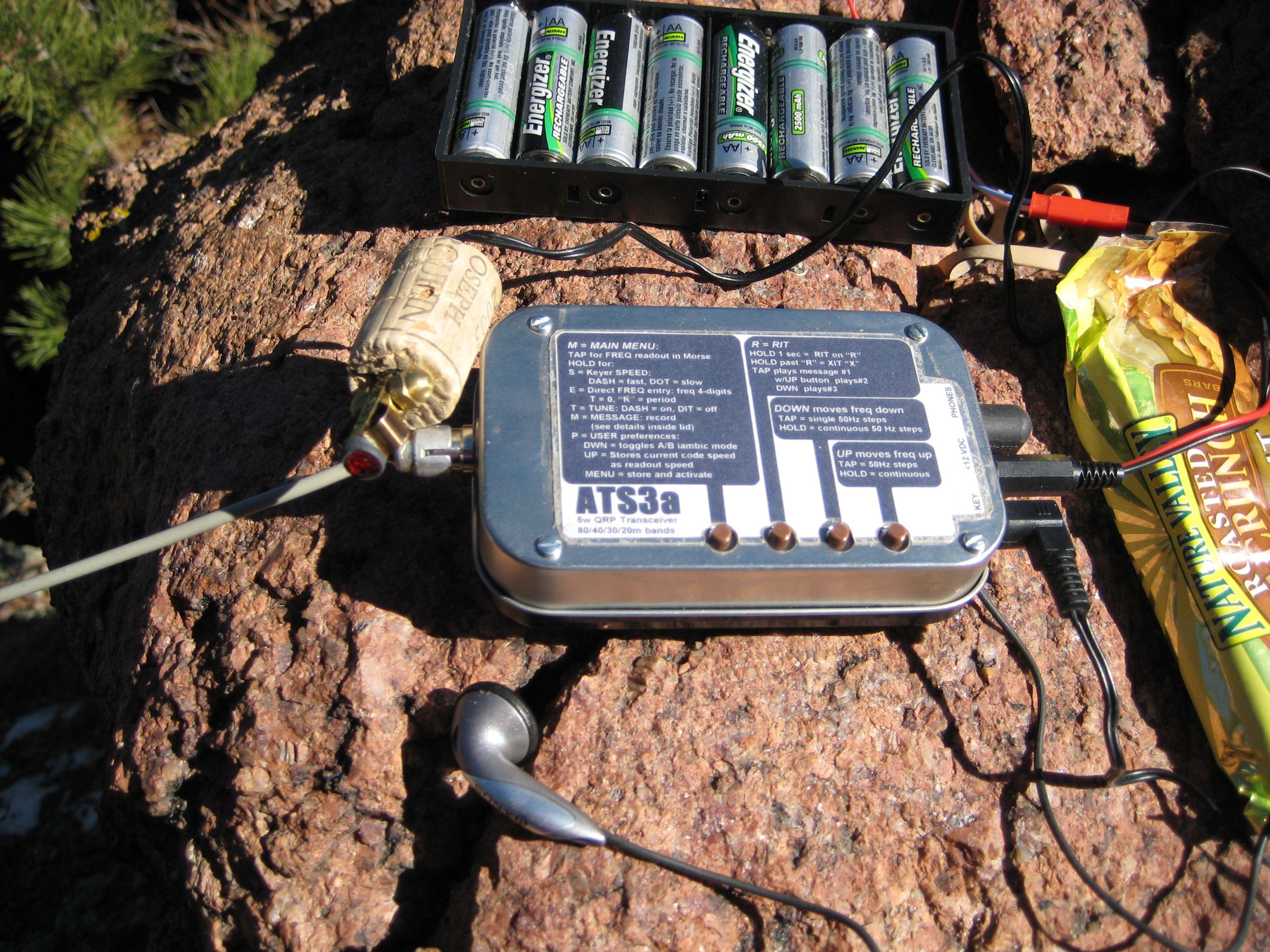 My Ats3b 5 Band 5w Cw Transceiver Weighs 6 Oz Ham Radio Ham