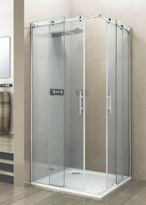Resultado de imagen de mamparas de ducha en esquina for Mampara ducha esquina