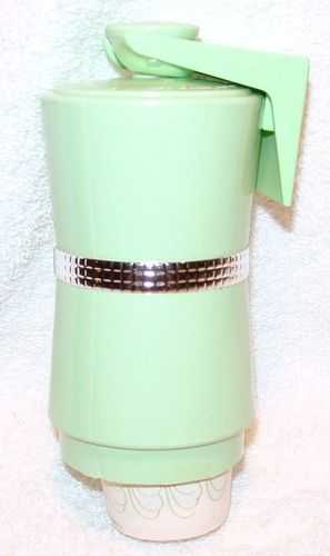 Vintage Jadite Green Dixie Cup Dispenser For 3 Oz Cups Retro Bathroom Kitchen