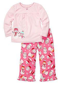 7bdac259c Carter s® 2-Piece Snowman Pajama Set Girls 4-6x