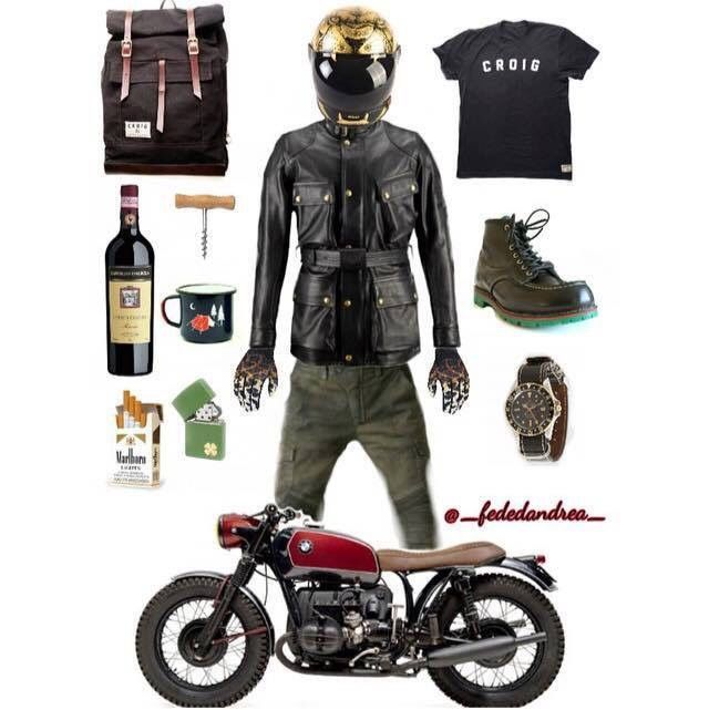 Motorcycle Art Clothes Biker Gear Outfit Moto Style Bike Cafe Racers Custom Bikes Bmw S