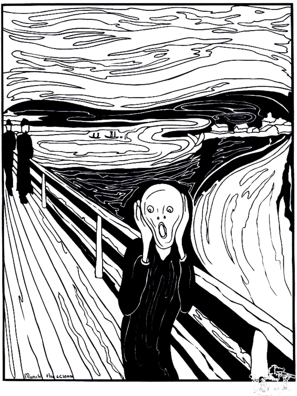 Munch The Scream The Scream Was Painted By The Expressionist Artist Edvard Munch In 1893 From The Gallery Masterpieces Just C Famous Art Art Colorful Art