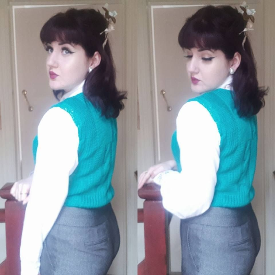 01.01.2018 ( #vintage #vintagefashion #vintagestyle #1940s #1940sfashion #1940shair #1940sstyle #vintagehair )