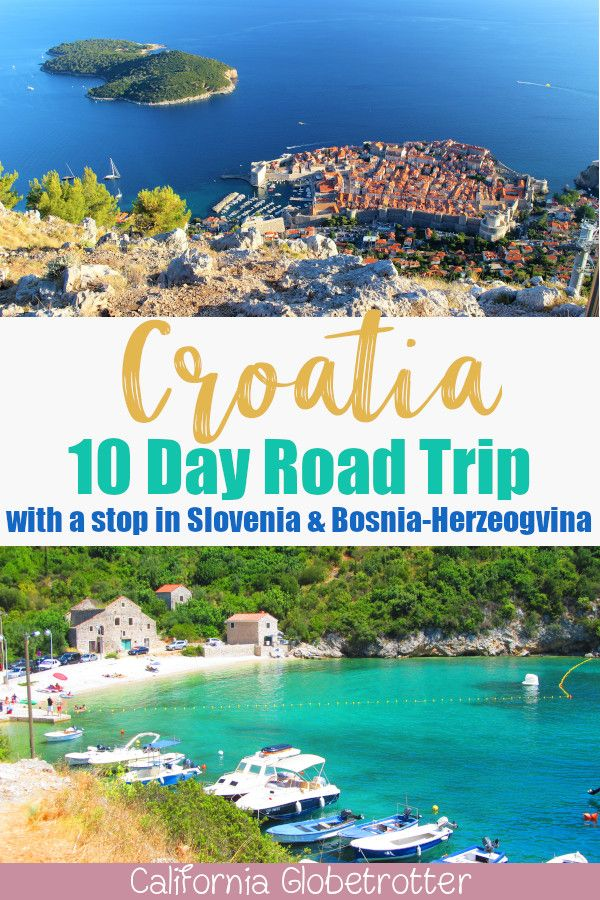 A 10-Day Road Trip Through Croatia