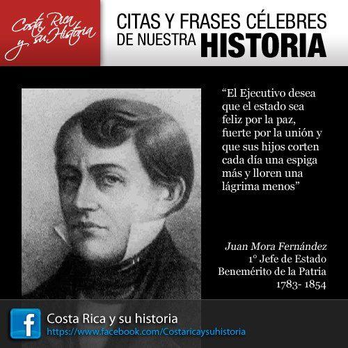 Juan Mora Fernandez Frases Celebres Isla Del Coco Y Frases