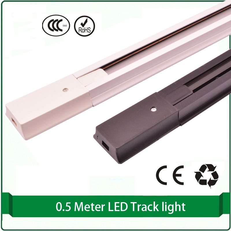 05m track for track light aluminum brass cord white black light 05m track for track light aluminum brass cord white black light track 2 phase led mozeypictures Gallery