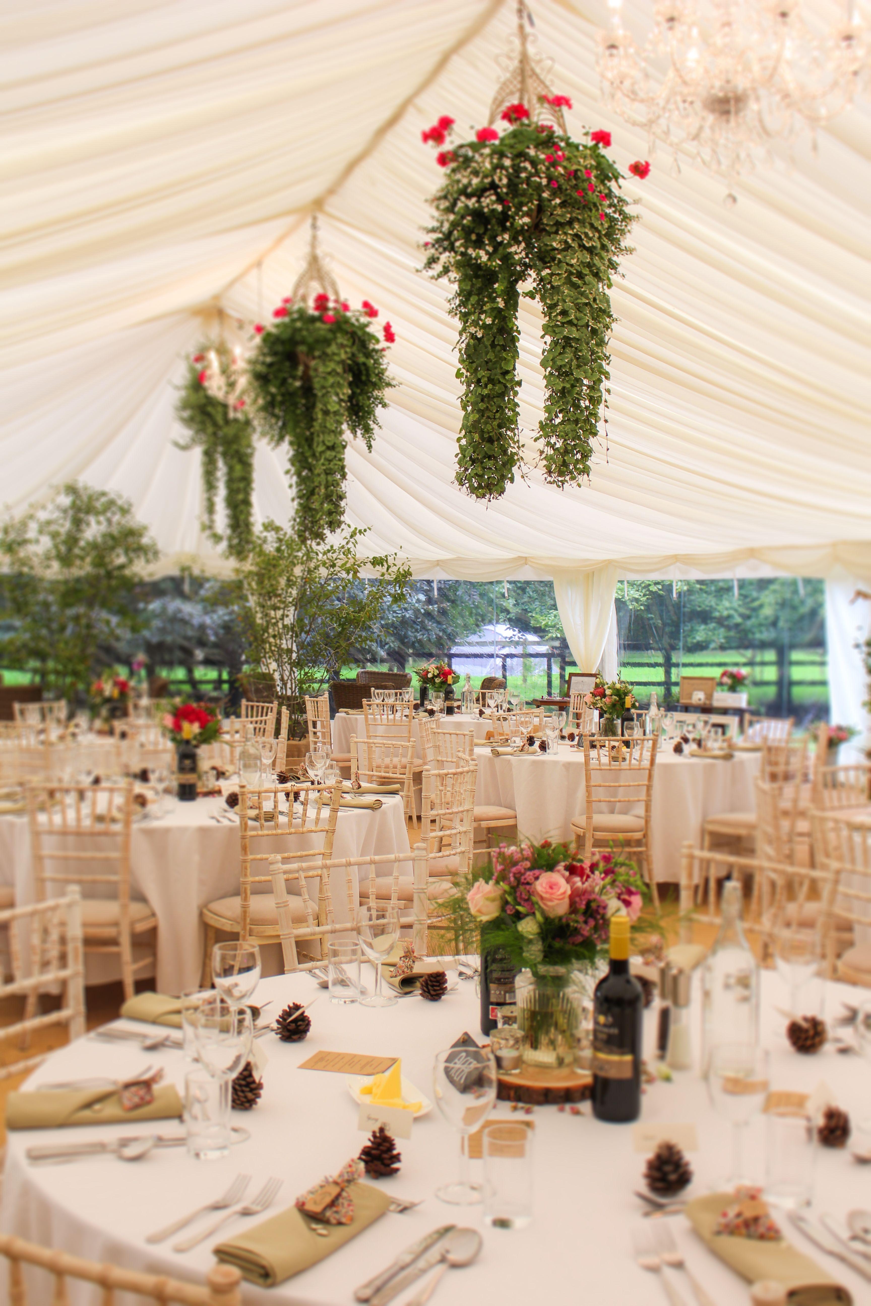 Marquee Wedding Decorations Garden Country Wedding Spring Wedding