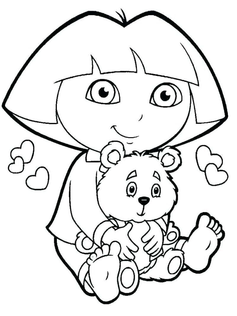 Dora Coloring Pages Ideas Dora Coloring Coloring Pages