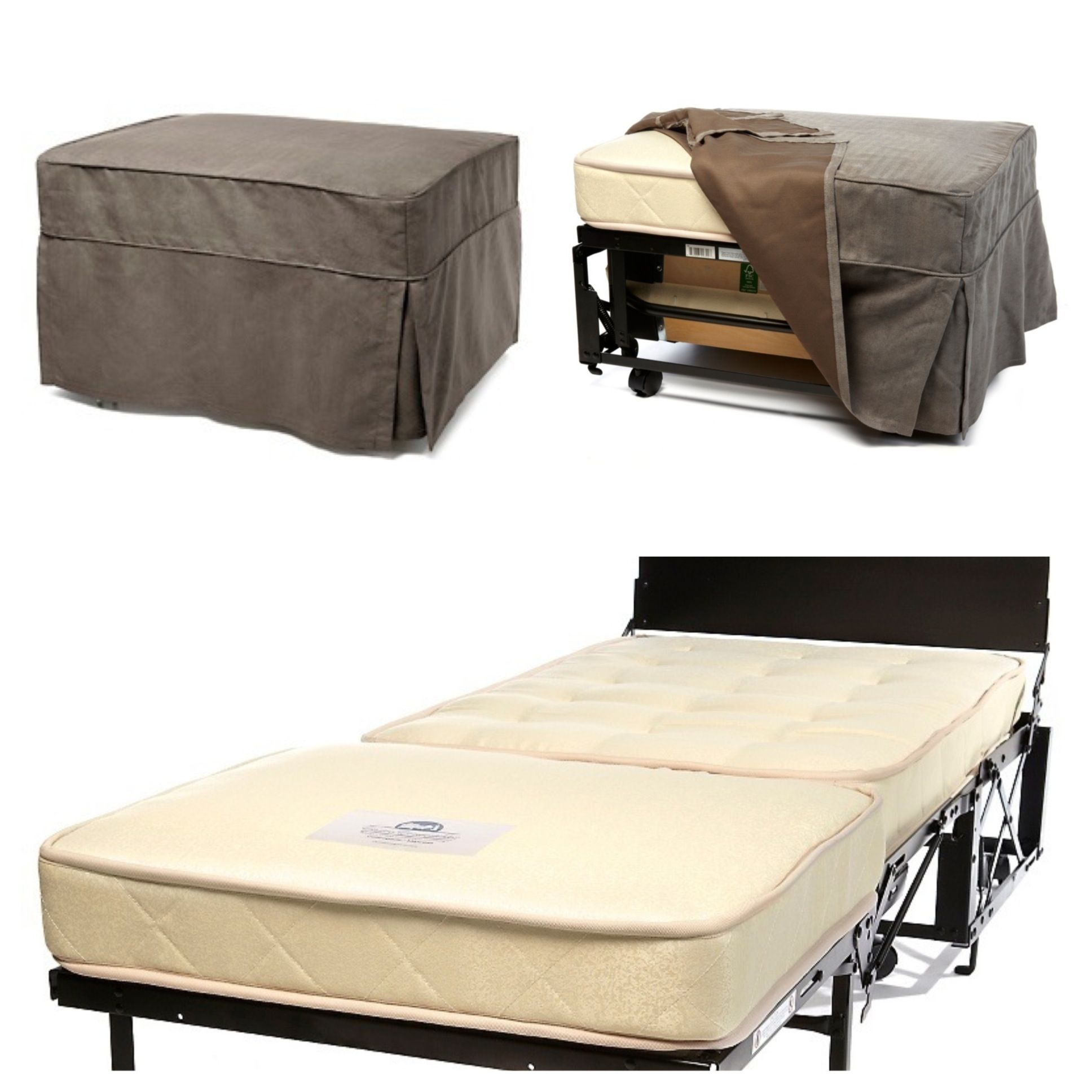 Castro Convertible Ottoman With Mattress I Love This Option For Extra Bedding In An Rv They 39 Re