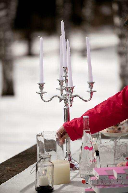 Comme un mariage d'hiver, by Plan de Table, Ancelle, Gap, Hautes-Alpes http://yesidomariage.com - Conseils sur le blog de mariage