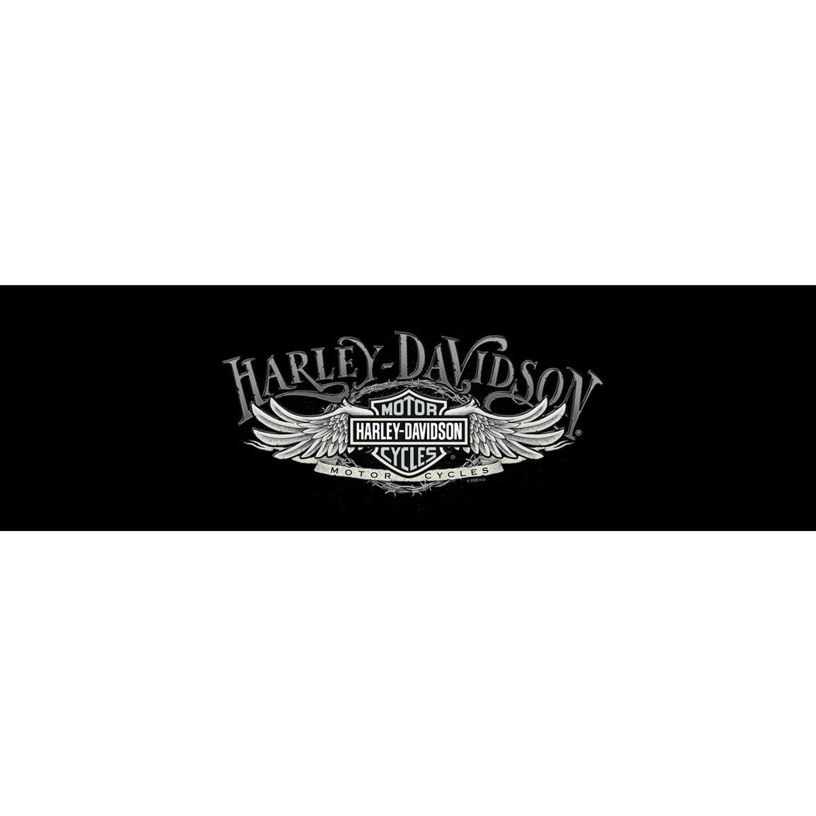 Harley Davidson Medium Classic Bar Shield Logo Vinyl Window Decal