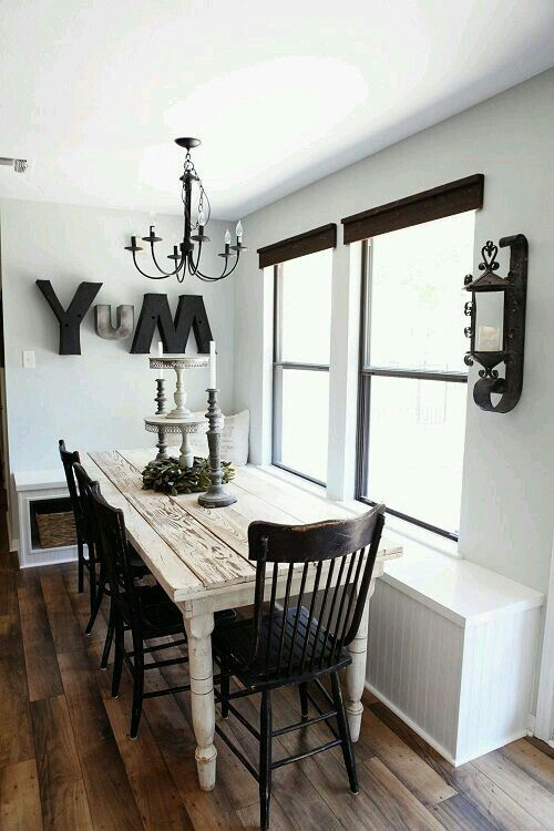 The trends of farmhouse dining room take furniture with finishing touches weather one type decoration and fresh detail also best decor design ideas rh pinterest