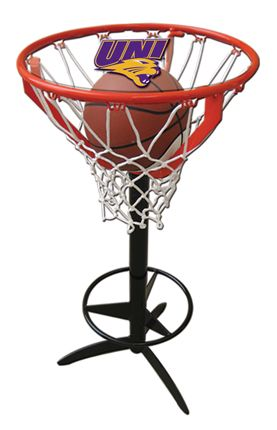 Check out this UNI Panthers pub table. This is perfect for any UNI man cave. Goalsetter also offers a variety of other colleges all basketball fans!