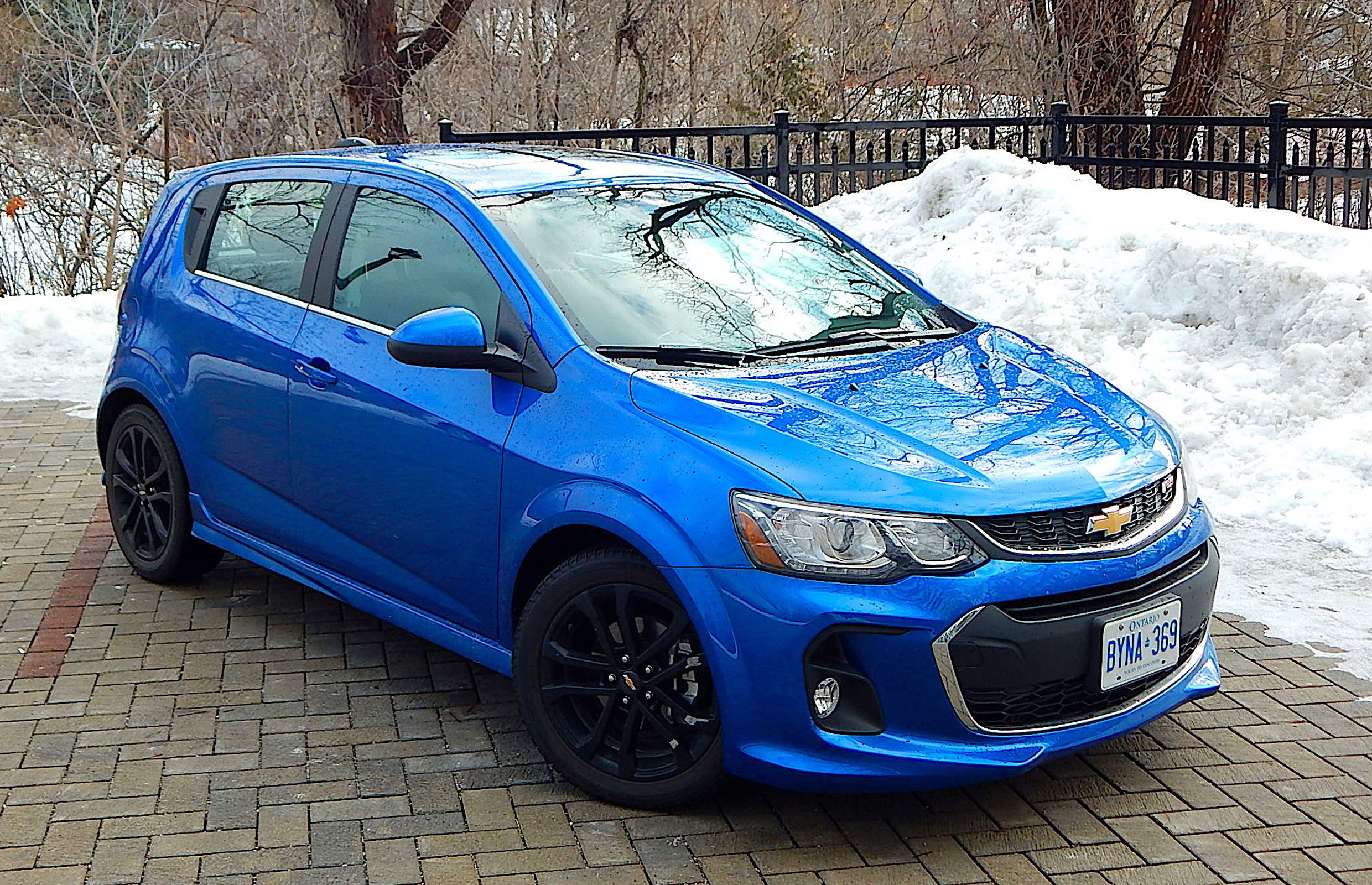 Car Review 2017 Chevrolet Sonic Rs Premier Hatchback Chevrolet