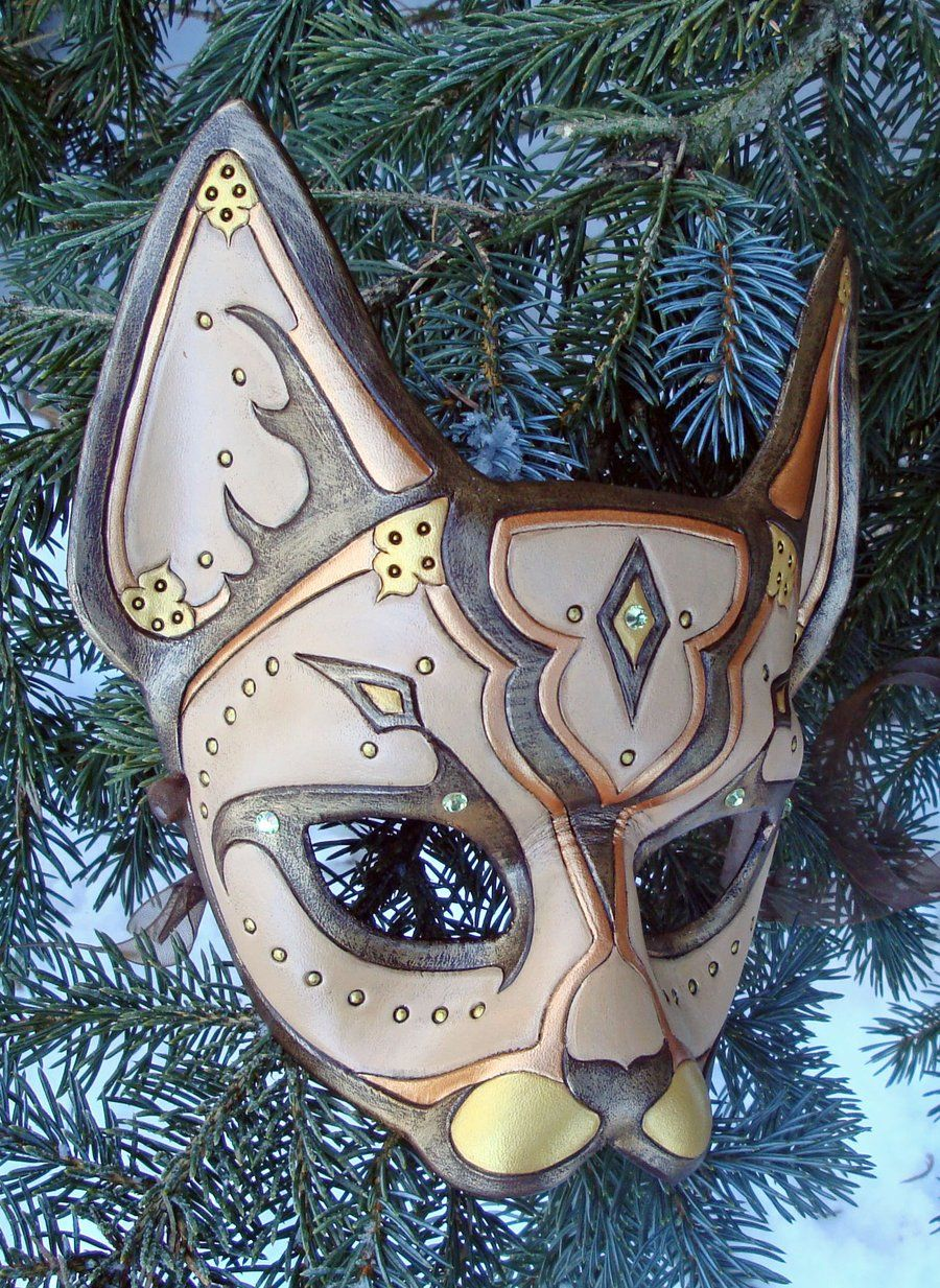 Desert Persian Cat Mask by *merimask on deviantART (With