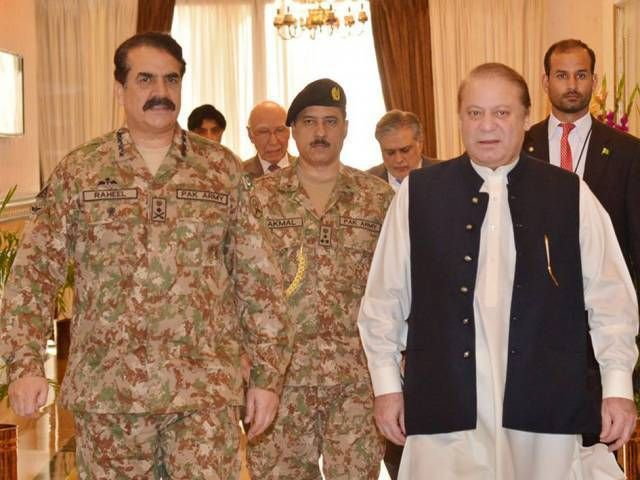 PM COAS to witness Northern Thunder - The Express Tribune