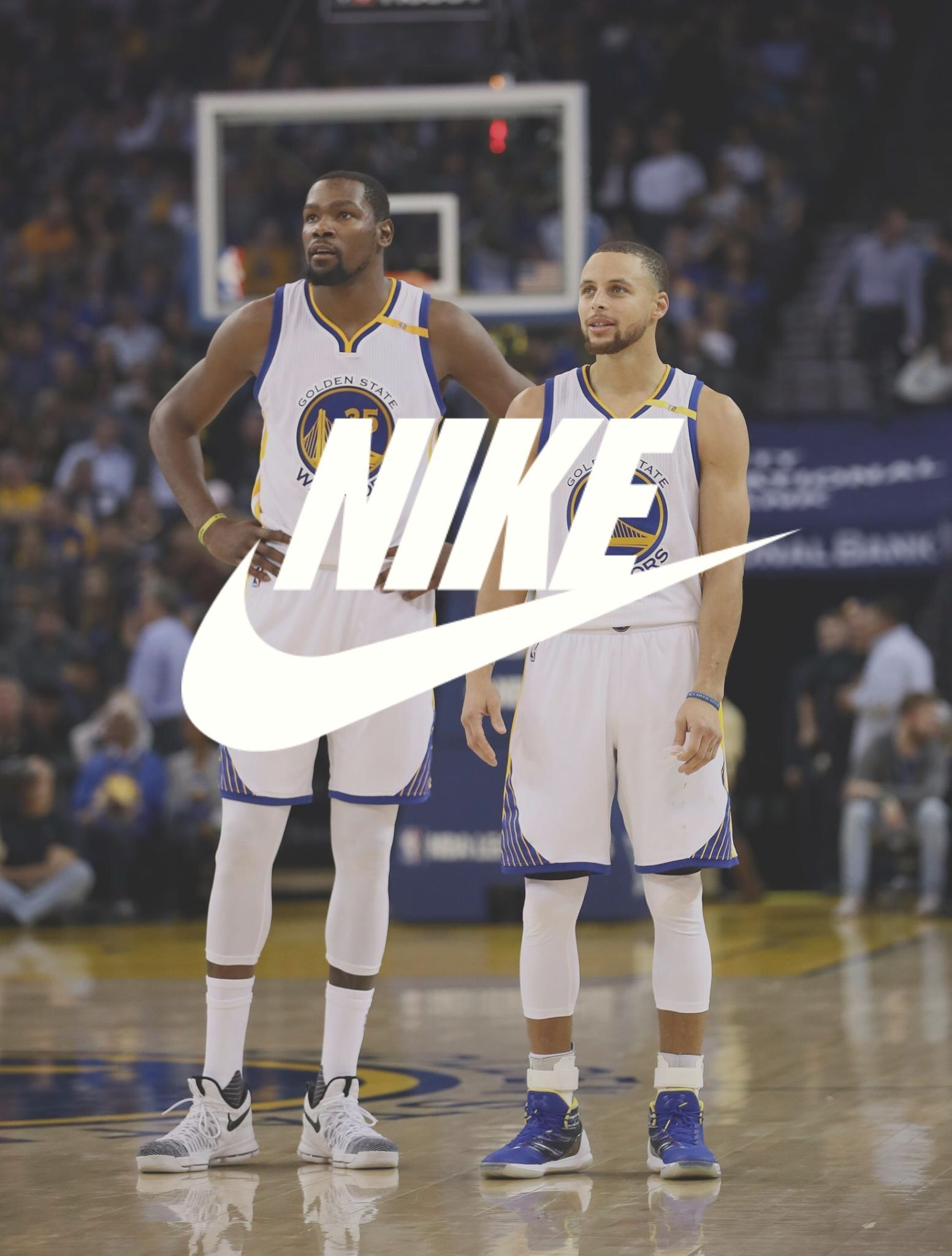 Nike Wallpaper Kevin Durant Stephen Curry Nike Wallpaper Stephen Curry Sports Basketball