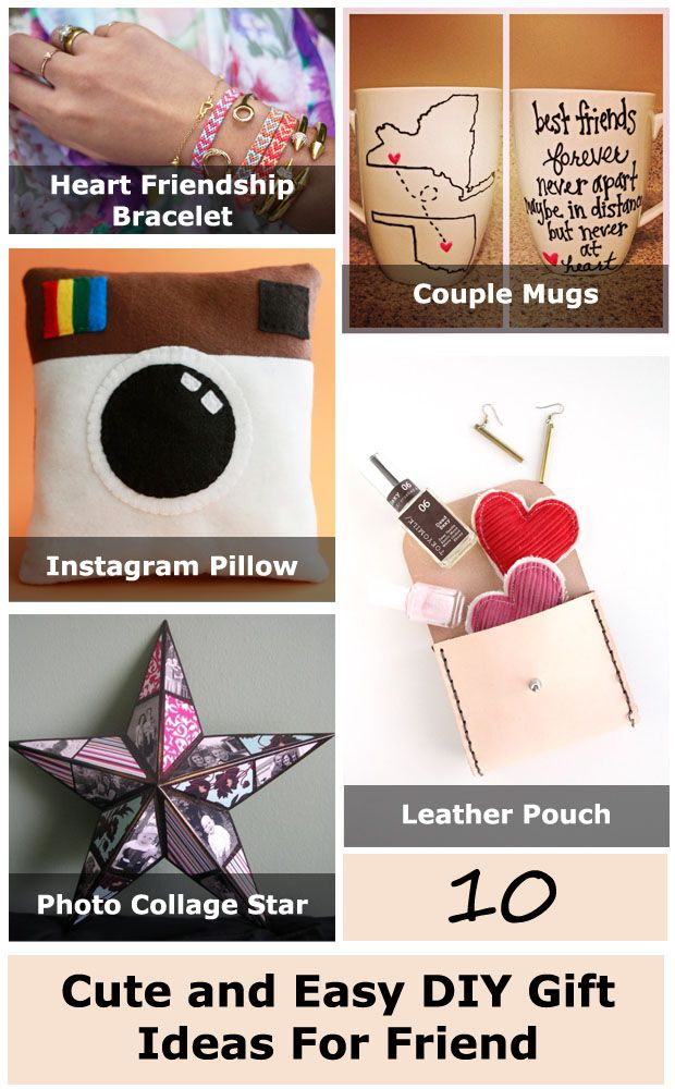 Cute and unique ideas for gifts for people you love