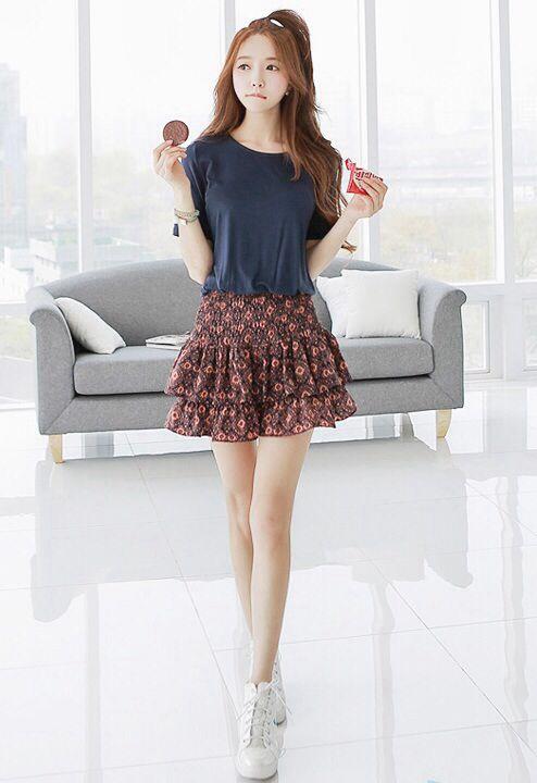 Ulzzang Outfit Ulzzang Gyaru Fashion Pinterest Stage Name Skirts And Ulzzang