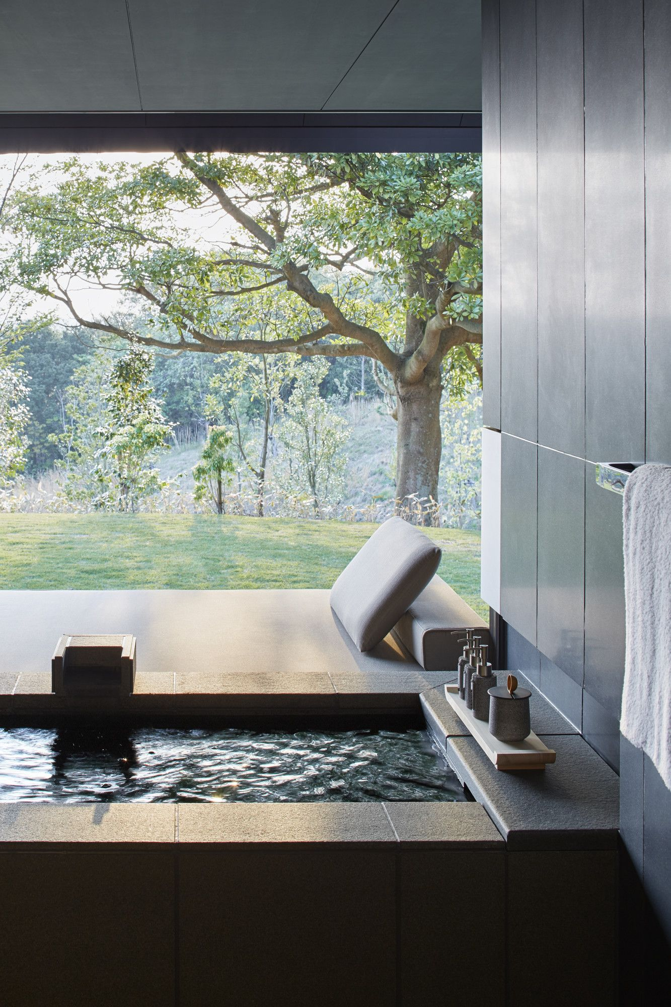 Piscina Jacuzzi Praktiker Amanemu Private Onsen Japan Wc Rct In 2018