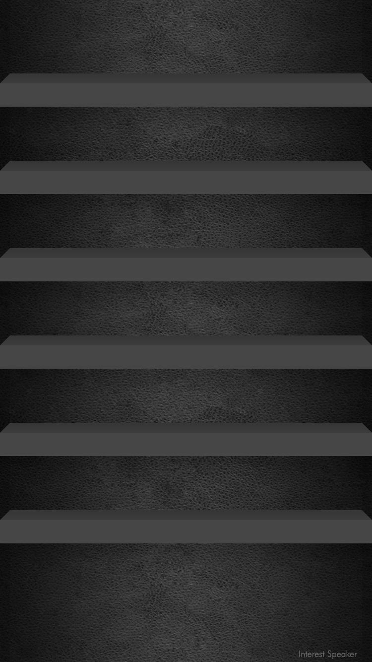 Iphone6 Home Wallpaper Leather Black Png 750 1 334ピクセル 黒の壁紙 Iphone8 壁紙 ホーム画面