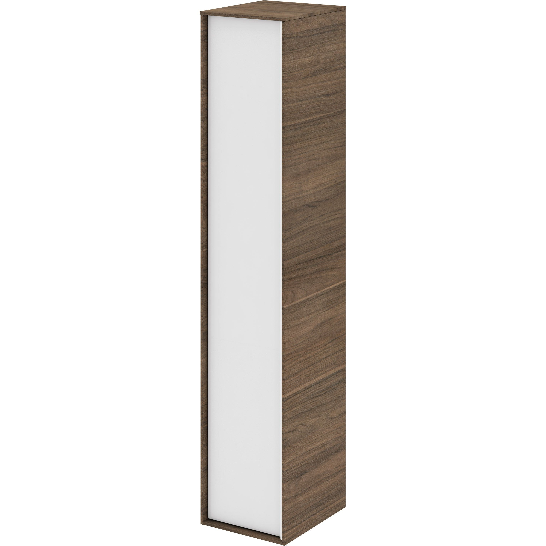 Colonne Neo Leroy Merlin colonne l.30 x h.154 x p.35 cm, effet noyer, neo frame