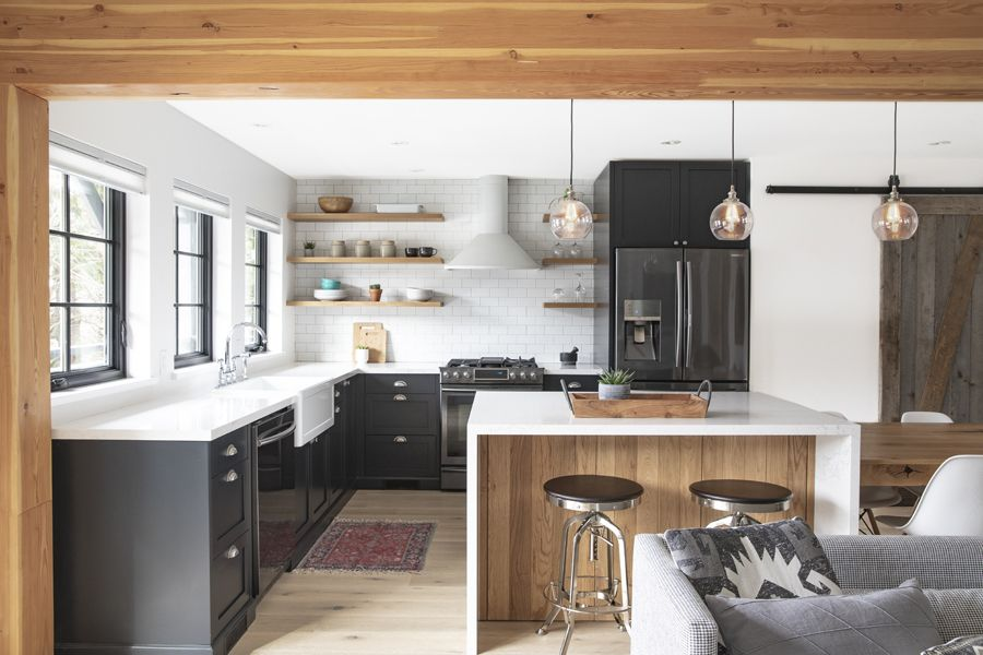 Custom Whistler Cabin Kitchen By Union Wood Co Vancouver Bc