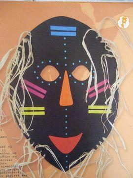 masque africain nanoug