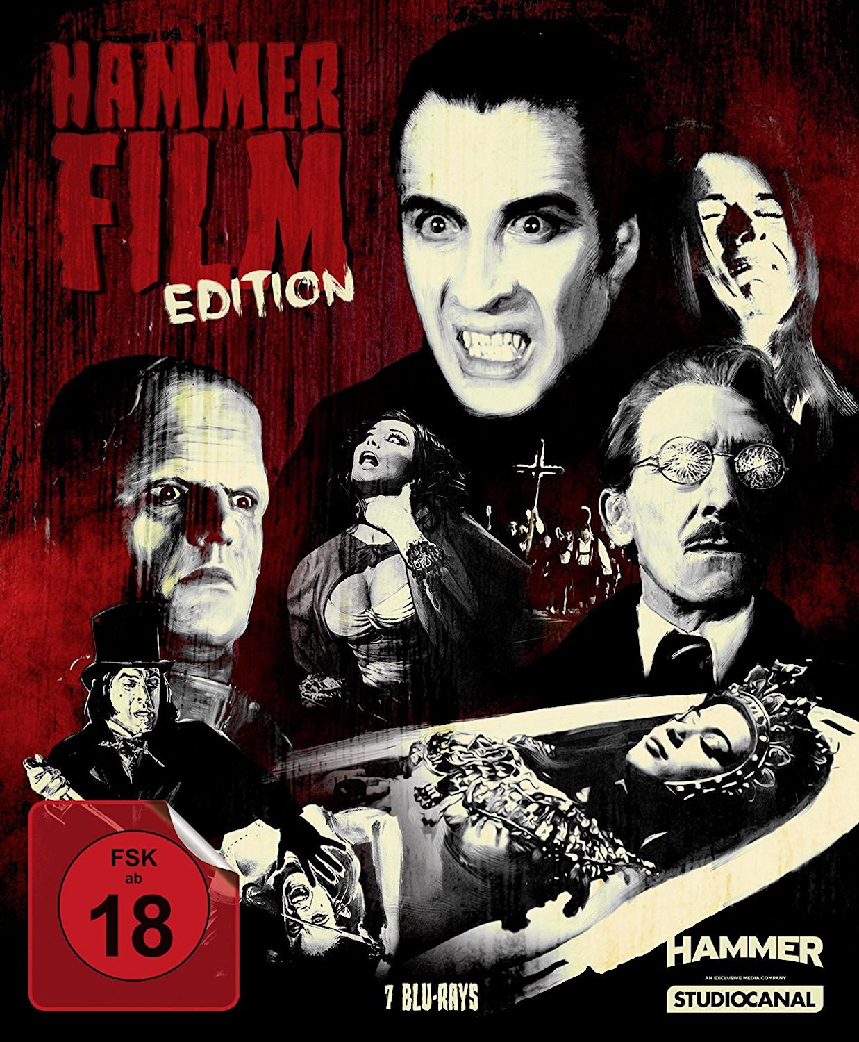 hammer film collection blu-ray set germany (studio canal