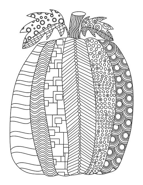 Fall Free Printable Adult Coloring Pages | Pat Catan's ...