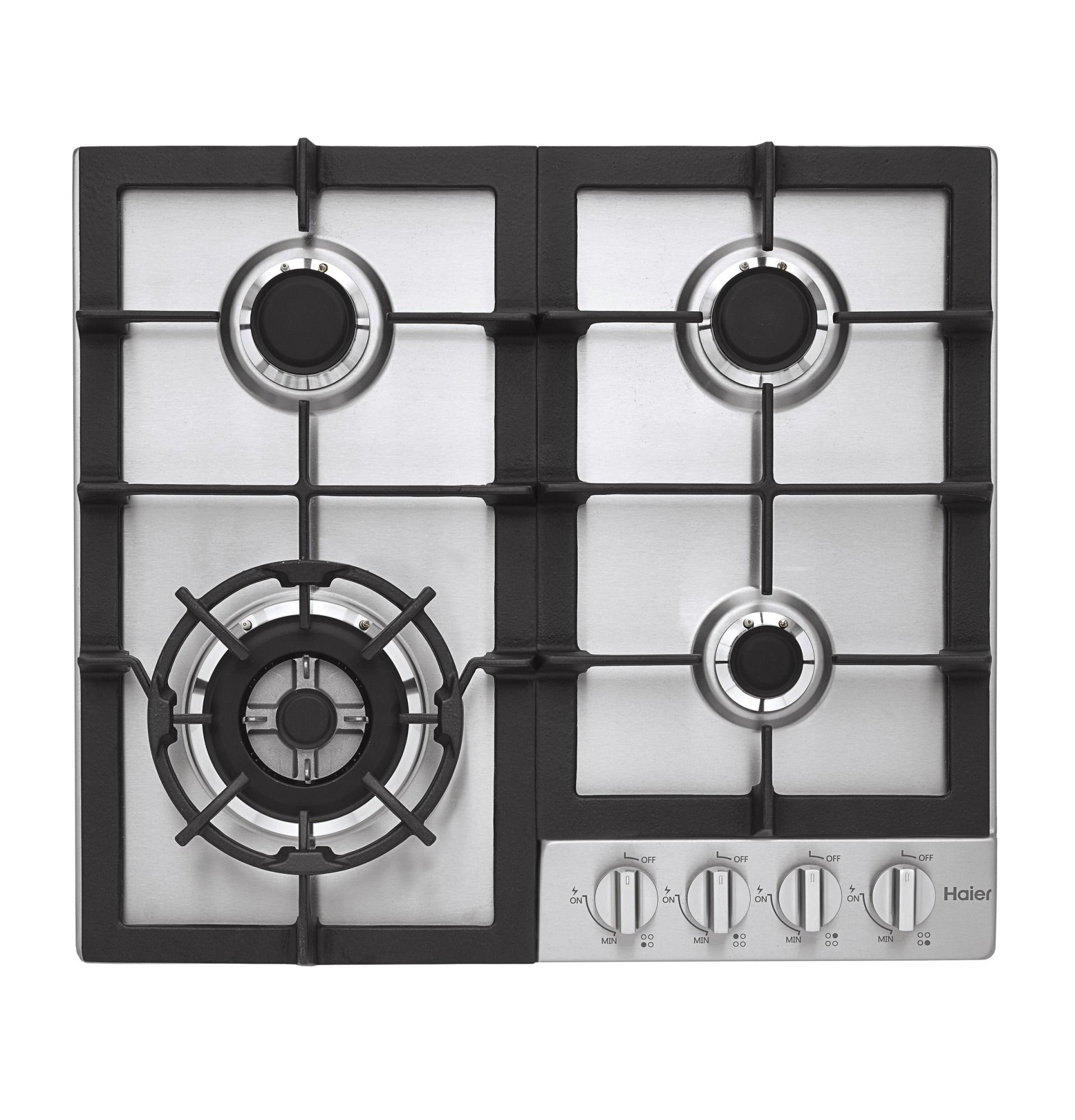 Haier Hcc2230ags 24 Gas Cooktop Stainless Stainless Steel Gas Cooktop Stainless Steel Cooktop Cooktop