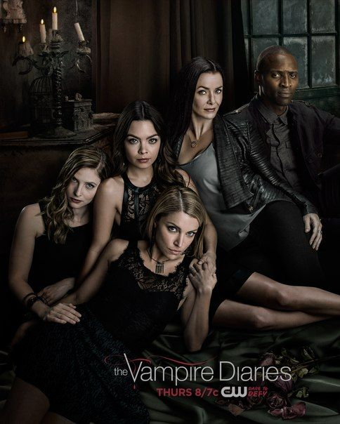 New poster for The Vampire Diaries season 6 | I <3 TVD in