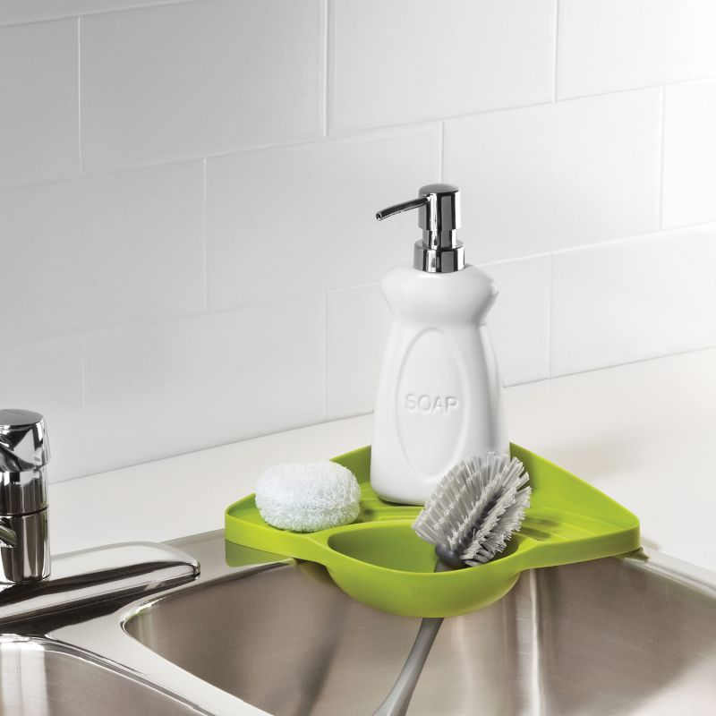 Umbra Cove Corner Shelf Kitchen Sink Organizers Sink Organizer Corner Shelves