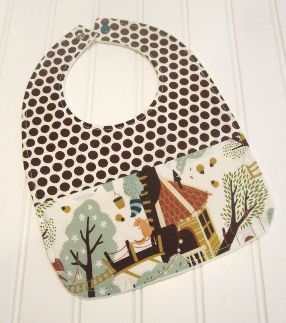 SWEET NATURALS/Organic Line/Baby Bib/Infant18 by SweetbugStudio, $13.00