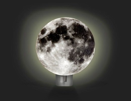 Kikkerland Design Inc » Products » Night Light + Moon
