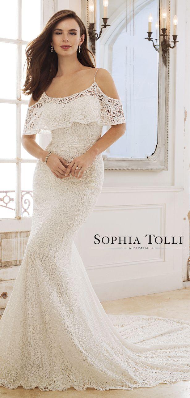Sophia Tolli Wedding Dress Collection Spring 2018   Vestidos de ...