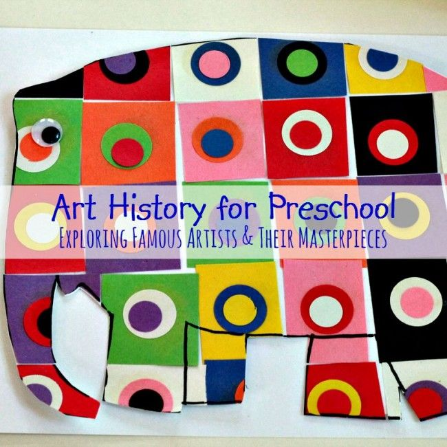 Photo of 12+ Easy Ideas to Explore Art History with Preschoolers