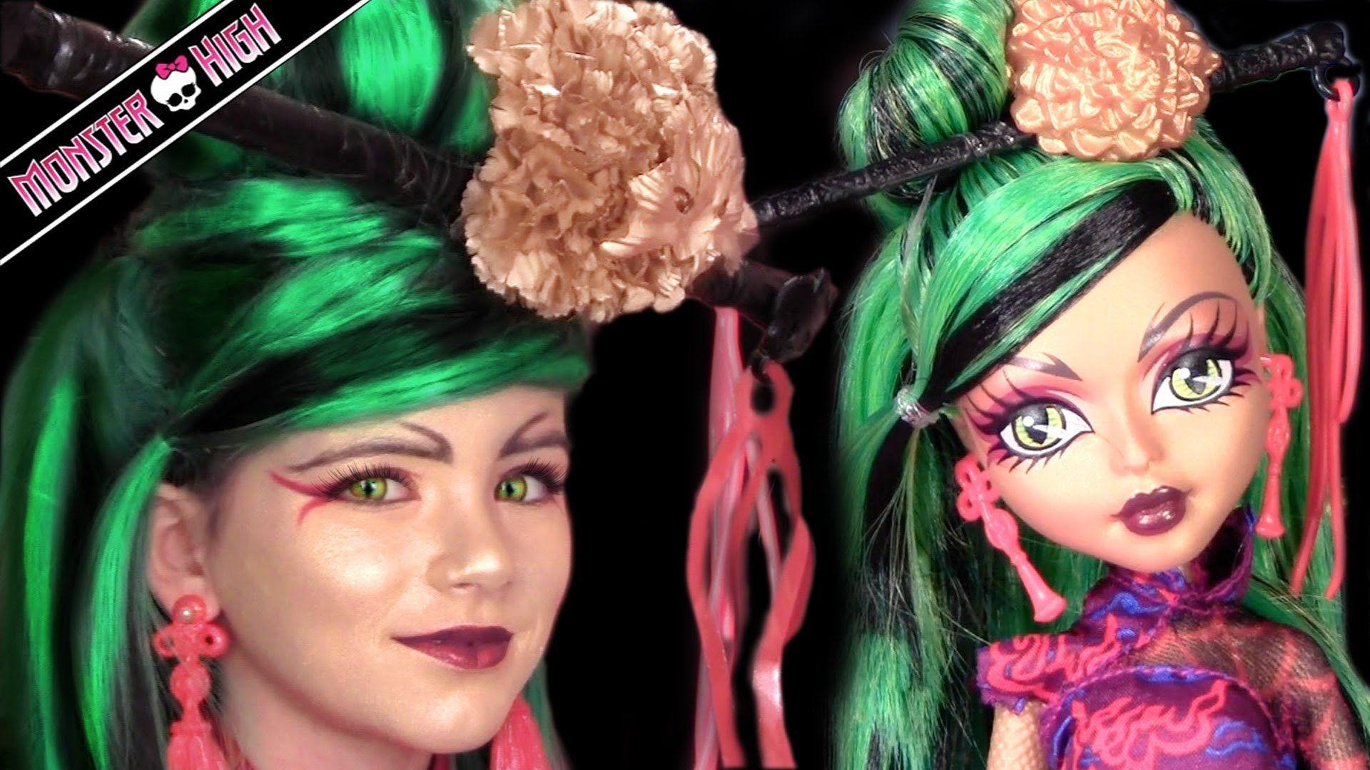 Jinafire long monster high doll costume makeup tutorial for cosplay jinafire long monster high doll costume makeup tutorial for cosplay or h baditri Images